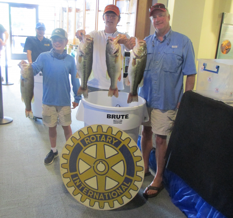 Annual Rotary Bass Fishing Tournament